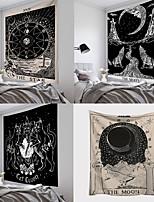 cheap -Tarot Sun and Moon Pattern Blanket Tarot Indian Mandala Tapestry Wall Hanging Bohemia Gypsy Home Bedroom Decorating Throw