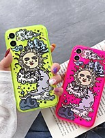 cheap -Case For Apple iPhone 11 / iPhone 11 Pro / iPhone 11 Pro Max Pattern Back Cover Scenery / Cartoon TPU