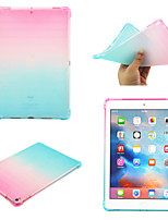 cheap -Case For Apple iPad 10.2''(2019)  iPad Pro 10.5  Ipad air3 10.5' 2019 360 Rotation  Shockproof Back Cover Color Gradient TPU