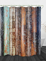 cheap -Camphor Tree Board Digital Print Waterproof Fabric Shower Curtain For Bathroom Home Decor Covered Bathtub Curtains Liner Includes With Hooks