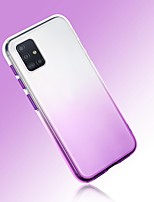 cheap -Case For Samsung Galaxy S20 Ultra Note 10 Plus A10 A20 A30 A50 A70 A21S J6 Plus  J4 Plus  Galaxy A10(2019) Ultra-thin Transparent Back Cover Color Gradient TPU