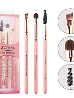 cheap -Professional Makeup Brushes 3 Pieces Soft Adorable Artificial Fibre Brush Wooden / Bamboo for Lash Brush Eyebrow Brush Eyeshadow Brush Makeup Brush Set