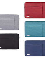 cheap -11.6 Inch Laptop / 12 Inch Laptop / 13.3 Inch Laptop Sleeve Polyester / Canvas Simple / Solid Colored Unisex Waterpoof Shock Proof