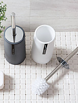 cheap -Plain Toilet Brush Set Bathroom Cleaning Brush Long Handle Toilet Brush Toilet Toilet Brush