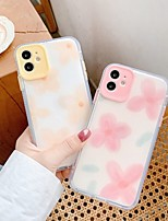 cheap -Case For Apple iPhone 11 / iPhone 11 Pro / iPhone 11 Pro Max Pattern Back Cover Flower TPU / Silicone