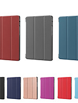 cheap -Compatible with Huawei MatePad matepad T8 Shockproof Flip Full Body Cases Solid Colored