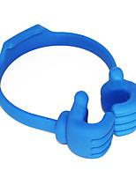 cheap -Universal Adjustable Plastic Thumbs Modeling Mobile phone Holder Desktop Personality Phone Stand Bracket Holder