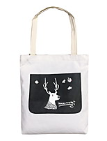 cheap -Women's Zipper Polyester Crossbody Bag 2020 Solid Color White / Black