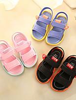 cheap -Boys' / Girls' Sandals Comfort PU Little Kids(4-7ys) / Big Kids(7years +) Black / Blue / Pink Summer / Fall / Rubber