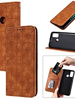 cheap -Case For Huawei P Smart Z Y6P Y5P Y7P P40 Lite E Card Holder with Stand Flip Full Body Cases Solid Colored Flower PU Leather Huawei Honor 10 Lite 8A 9A 9S 9X Y9 Prime 2019 Nova 7SE Nova 7i 6SE P40 Pro