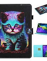 cheap -Case For Apple iPad Pro 11 2020 ipad 10.2 Air 10.5 2019 mini 12345 2017 2018 9.7 Card Holder with Stand Flip Full Body Cases Cat PU Leather