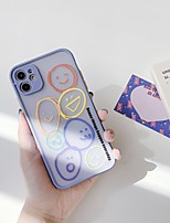 cheap -Case For Apple iPhone 11 / iPhone 11 Pro / iPhone 11 Pro Max Transparent / Pattern Back Cover Cartoon Silica Gel