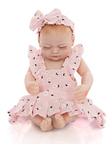 cheap -KEIUMI 10 inch Reborn Doll Baby & Toddler Toy Reborn Toddler Doll Baby Girl Gift Cute Washable Lovely Parent-Child Interaction Full Body Silicone KUM11FS02-WP06 with Clothes and Accessories for