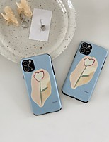 cheap -Case For Apple iPhone 7 iPhone 7P iPhone 8 iPhone 8P iPhone X iPhone iPhone XS iPhone XR iPhone XS max iPhone 11 iPhone 11 Pro iPhone 11 Pro Max Pattern Back Cover Flower TPU