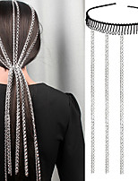 cheap -Women's Hair Jewelry For Party Evening Gift Holiday Street Fashion Classic Aluminum Silver 1pc