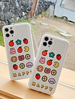 cheap -Case For Apple iPhone 11 / iPhone 11 Pro / iPhone 11 Pro Max Pattern Back Cover Word / Phrase / Cartoon TPU