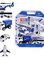 cheap -Vehicle Playset Excavator Toy Construction Truck Toys Police car Fighter Fire Truck Simulation Drop-resistant Plastic Mini Car Vehicles Toys for Party Favor or Kids Birthday Gift Random Color / Kid's