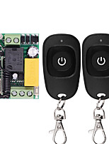 cheap -Mini Switch Remote-Controllers Waterproof Wireless RF White for Transmitter 220-V Relay-Receiver
