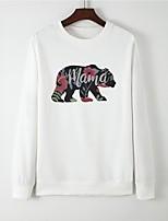 cheap -Women's Sweatshirt Graphic Casual Hoodies Sweatshirts  White Black Red