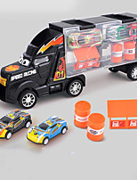 cheap -Vehicle Playset Construction Truck Toys Transport Car Toy Race Car Simulation Alloy Mini Car Vehicles Toys for Party Favor or Kids Birthday Gift Includes 2pcs Toy Cars 3pcs Road Sign 1+2 pcs / Kid's