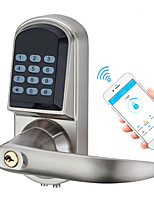 cheap -Smart Bluetooth Door Lock Easy Install Access Control Digital Keypad Password RFID Lock Home Apartment Office