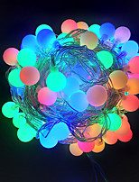 cheap -10m String Lights 100 LEDs Dip Led 1pc Warm White Multi Color Halloween Christmas Decorative 220 V
