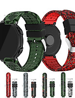 cheap -Replacement Wristband Strap For Garmin Forerunner 220 230 235 630 620 735 GPS Smart Watch Band Sport Camouflage bracelet belt