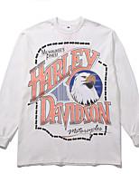 cheap -Women's Sweatshirt Character Animals Basic Hoodies Sweatshirts  Loose White Gray