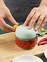 cheap -Mini Garlic Slicer Household Mincing Machine Minced Hand Pull Grinder Grill Vegetable Multi Chopper Shredder Gadget
