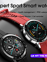 cheap -S16 Smart Watch 1.3 inch HD Touch Screen Men Watches 6 Style Straps Matching Health Monitoring Smartwatch For iOS Android