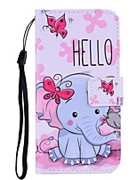 cheap -Case For Nokia Nokia 7.1 5.1 3.1 Flip Magnetic Full Body Cases Cartoon PU Leather