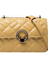 cheap -Women's Bags PU Leather Crossbody Bag for Event / Party / Daily White / Black / Yellow / Green