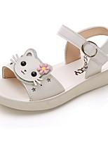 cheap -Girls' Comfort PU Sandals Little Kids(4-7ys) White / Purple / Dusty Rose Summer