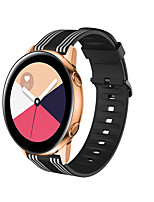 cheap -Silicone Sport Strap Striped Rubber Replacement Band for Xiaomi Watch Color Xiaomi Classic Buckle Silicone Wrist Strap