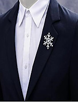cheap -Alloy Brooch with Crystals / Rhinestones 1 Piece Wedding / Daily Wear Headpiece