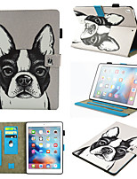 cheap -Case For Apple iPad 4 3 2 360 Rotation  Shockproof  Magnetic Full Body Cases Cat  Dog  Panda PU Leather  TPU