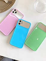 cheap -Case For APPLE iPhone 7 8 7plus 8plus XR XS XSMAX X SE 11 11Pro 11ProMax  Back Cover Mirror Solid Colored TPU  PC