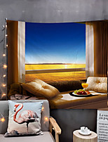 cheap -Home Living Tapestry Wall Hanging Tapestries Wall Blanket Wall Art Wall Decor Special Scenery Tapestry Wall Decor