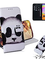 cheap -Case For Samsung Galaxy S20 Galaxy S20 Plus Galaxy S20 Ultra Wallet Card Holder with Stand Full Body Cases Panda PU Leather TPU for Galaxy A51 A71 A70E A81 A91 A11 A31 A41 A21