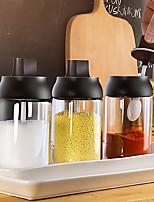 cheap -250ml Spice Jar Spice Bottle Salt Pepper Jar Seasoning Jar Moisture-proof Lid Spoon Seasoning Container Kitchen Seasoning Bottle