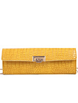 cheap -Women's Bags Polyester Crossbody Bag Chain for Daily / Going out White / Black / Purple / Yellow / Fall & Winter