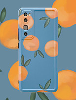 cheap -Case For Huawei Huawei P30 P30 Pro Huawei P40 P40 Pro Huawei Mate 30 Mate 30 Pro Huawei Nova 5 6 7 Huawei Nova 7 Pro Huawei Honor 30 Honor 30 Pro Pattern Back Cover Food TPU
