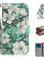 cheap -Case For Samsung Galaxy S20 Galaxy S20 Plus Galaxy S20 Ultra Wallet Card Holder with Stand Full Body Cases Watercolor Flower PU Leather TPU for Galaxy A51 A71 A70E A81 A91 A11 A31 A41 A21