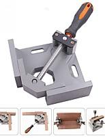 cheap -Aluminium Single Handle 90 Degree Right Angle Clamp Photo Frame Corner Clip