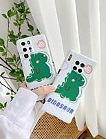 cheap -Case For Huawei  Nova 4 5 5Pro 6 Huawei P20 P20 Pro P30 P30Pro P40 P40Pro Mate 20 20Pro 30 30Pro Shockproof Frosted Pattern Back Cover Animal Pattern Cartoon TPU