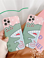 cheap -Funny Crocodile Cartoon Soft TPU Silicone Matte Case Fundas Coque Cover For iPhone 11 8 8Plus X XS Max 7 7Plus SE 2020