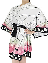 cheap -Inspired by Demon Slayer: Kimetsu no Yaiba Kochou Shinobu Anime Cosplay Costumes Japanese Cosplay Suits Costume For Women's