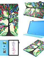 cheap -Case For  Huawei MediaPad M5 10.8  MediaPad M3 lite10  360 Rotation Shockproof  Magnetic Full Body Cases Word  Phrase  Butterfly  Panda PU Leather  TPU
