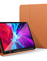 cheap -Case For Apple iPad Pro 11''(2018)  iPad Pro 11''(2020)  iPad10.2''(2019)  Ipad air3 10.5' (2019) 360 Rotation  Shockproof  Magnetic Full Body Cases Solid Colored PU Leather  TPU