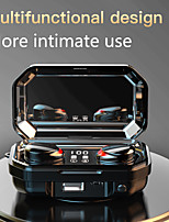 cheap -M15 TWS touch Bluetooth 5.0 in-ear headphones large capacity can charge mobile phones LED digital display multi-function waterproof and sweat-proof earbuds